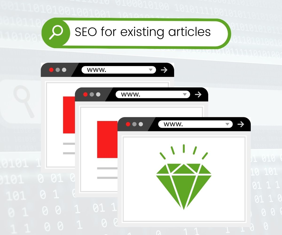 seo for existing articles