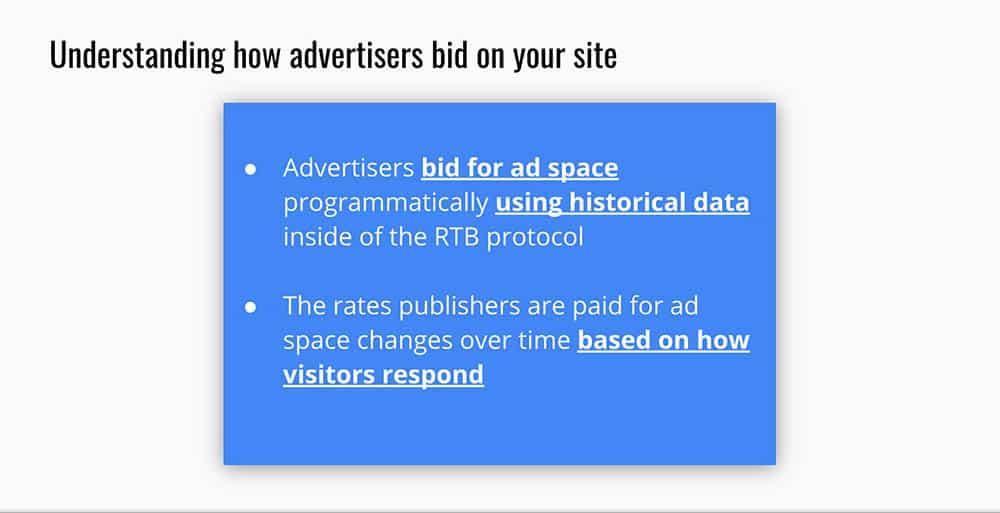 mejora de la monetización de contenido al aumentar las tasas de anuncios
