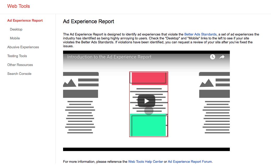 ad heavy google algorithm
