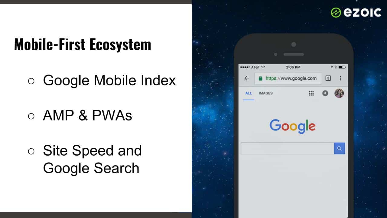 google mobile results