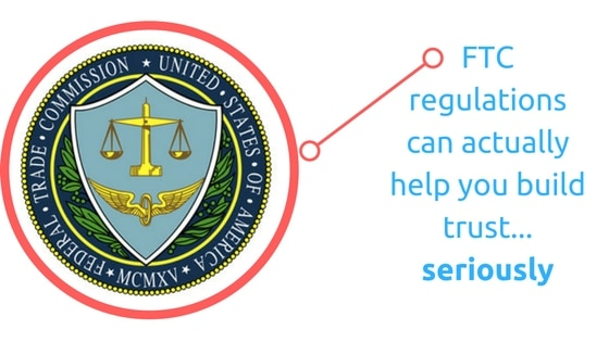 ftc disclosure on your website