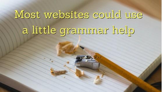 grammar help for blogs