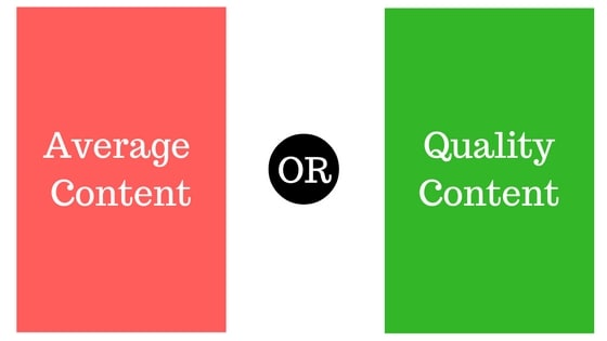 measuring quality content