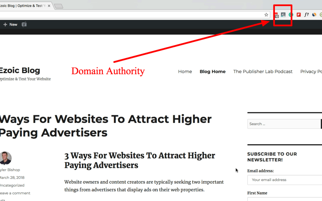 Domain Authority Is A Good Investment of Time In SEO