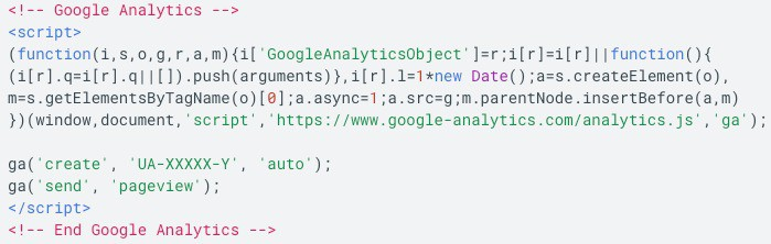 What is client-side (script data), like Google Analytics?