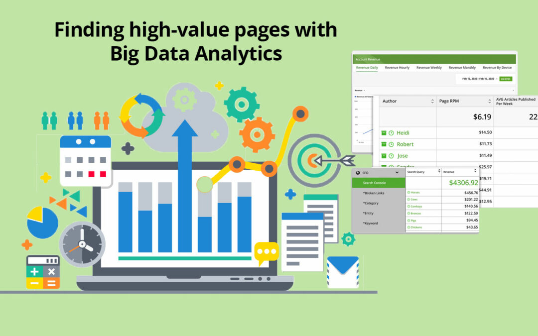 Comment trouver des pages de grande valeur à l'aide du Big Data Analytics