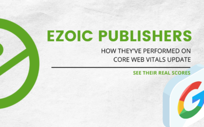 See How Two Publishers Scored in the Core Web Vitals Update