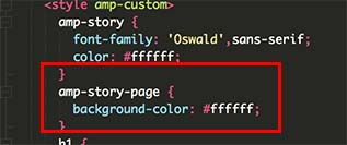 customizing the CSS as we go along