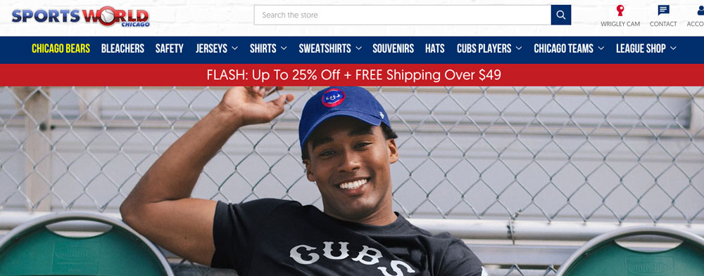 Cubsinsider affiliate relationship with local merchandise